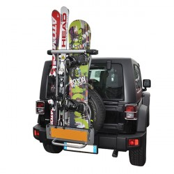 porte skis pour voiture attelage accessoire auto. Black Bedroom Furniture Sets. Home Design Ideas