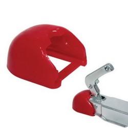 Protection en caoutchouc pour tête d'attelage
