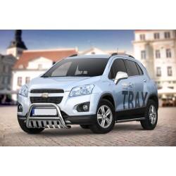 Pare-buffle avec plaque de protection Chevrolet TRAX (2013-)