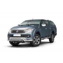 Pare-buffle avec barre de Spoiler et plaque de protection Fiat Fullback (2015 -)