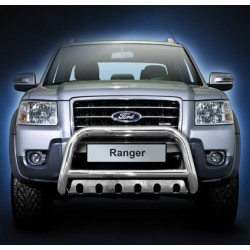 Pare-buffle avec plaque de protection Ford Ranger (2007-2012)