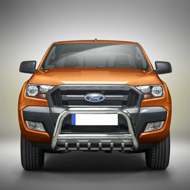 pare buffle avec grille ford ranger 2012 2016. Black Bedroom Furniture Sets. Home Design Ideas
