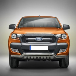 Pare-buffle barre de Spoiler et plaque de protection Ford Ranger (2012-2016)