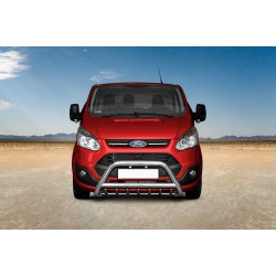Pare-buffle avec grille Ford Transit Custom (2012-)