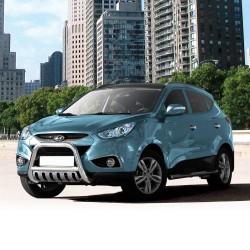 Pare-buffle avec plaque de protection Hyundai ix35 (2009 - 2015)