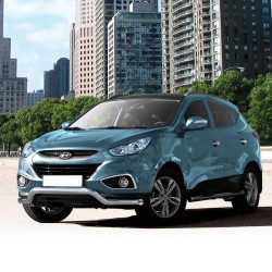 Pare-buffle barre de Spoiler Hyundai ix35 (2009 - 2015)