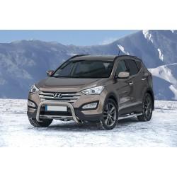 Pare-buffle sans barre transversale Hyundai Santa Fe (2012 -)