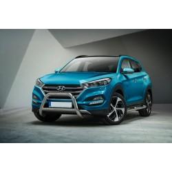 Pare-buffle avec barre transversale Hyundai Tucson (2015 -)