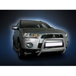 Pare-buffle avec barre transversale Mitsubishi Outlander (2009-2012)