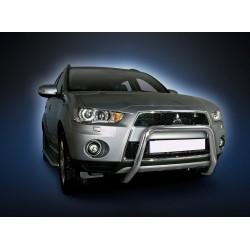 Pare-buffle sans barre transversale Mitsubishi Outlander (2009-2012)