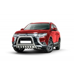 Pare-buffle avec plaque de protection Mitsubishi Outlander (2015-)