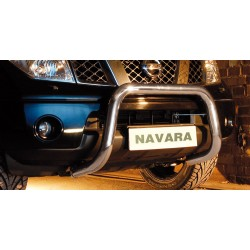 Pare-buffle sans barre transversale Nissan Navara (2010-2015)