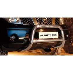 Pare-buffle avec barre transversale Nissan Pathfinder (2005-2010)
