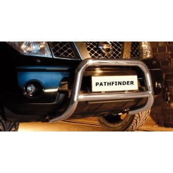 Pare-buffle avec barre transversale Nissan Pathfinder V6 (2010-)