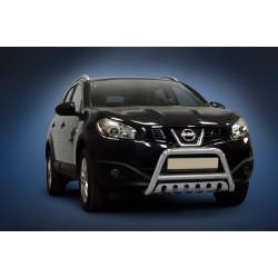 Pare-buffle avec plaque de protection Nissan Qashqai (2010-2013)
