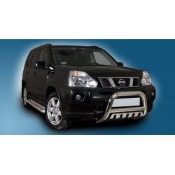 Pare-buffle avec plaque de protection Nissan X-Trail (2007-2010)