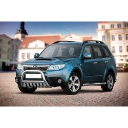 Pare-buffle avec plaque de protection Subaru Forester (2008-2013)