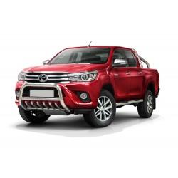 Pare-buffle avec grille Toyota Hilux (2015-)