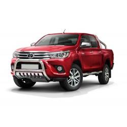 Pare-buffle avec plaque de protection Toyota Hilux (2015-)