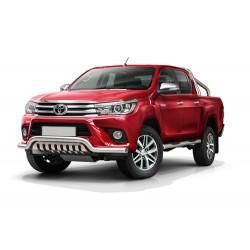 Pare-buffle barre de Spoiler et plaque de protection Toyota Hilux (2015-)