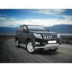 Pare-buffle barre de Spoiler et plaque de protection Toyota Land Cruiser 150 (2010-2013)