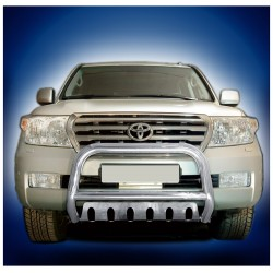 Pare-buffle avec plaque de protection Toyota Land Cruiser V8 (2007-2012)
