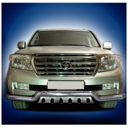 Pare-buffle barre de Spoiler et plaque de protection Toyota Land Cruiser V8 (2007-2012)