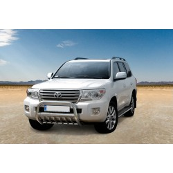 Pare-buffle avec grille Toyota Land Cruiser V8 (2012-)