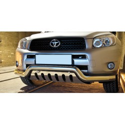 Pare-buffle barre de Spoiler et plaque de protection Toyota RAV4 (2006-2010)
