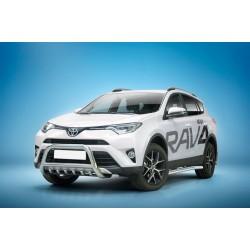 Pare-buffle avec grille Toyota RAV4 (2016-)
