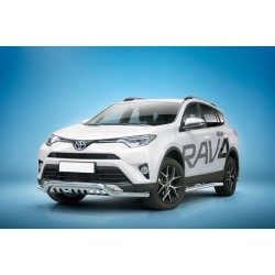 Pare-buffle barre de Spoiler et plaque de protection Toyota RAV4 (2016-)