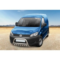 Pare-buffle avec plaque de protection Volkswagen Caddy (2010-)