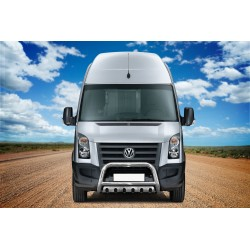 Pare-buffle avec plaque de protection Volkswagen Crafter (2006-2017)