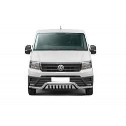 Pare-buffle barre de Spoiler et plaque de protection Volkswagen Crafter (2017-)