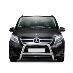 Pare-buffle avec barre transversale Mercedes V-class (2014-)