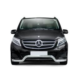 Pare-buffle barre Mercedes V-class (2014-)