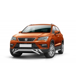 Barre pare buffle courte sans plaque de protection Seat Ateca (2016-)