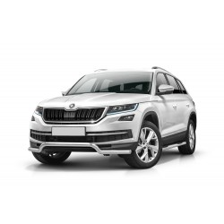 Barre pare-buffle sans plaque de protection Skoda Kodiaq (2016-)