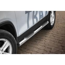 Marchepieds Chevrolet Trax (2013 -) - Latéraux avec revêtement en plastique anti-dérapant -