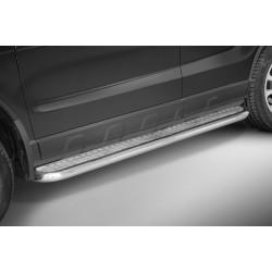 Marchepieds Honda CRV (2006 - 2009) - Plat Avec Plaque Anti Dérapante