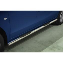 Marchepieds Mercedes V-Class Long (2014-) - Latéraux avec revêtement en plastique anti-dérapant -