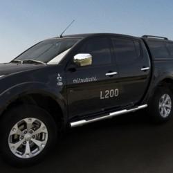 Marchepieds Mitsubishi L200 (2007-2009) - Latéraux Profilé -