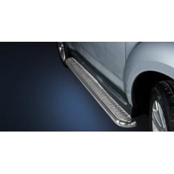 Marchepieds Mitsubishi Outlander (2010-2012) - Plat Avec Plaque Anti Dérapante -