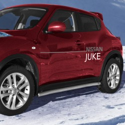 Marchepieds Nissan Juke (2010-) - Rond Latéraux -