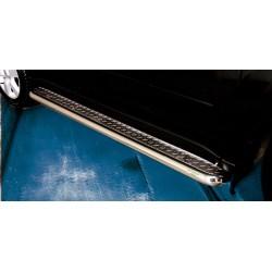 Marchepieds Nissan X-Trail (2007-2010) - Plat Avec Plaque Anti Dérapante -