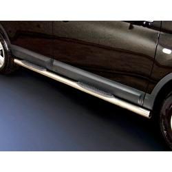 Marchepieds Nissan Qashqai (2010-2013) - Latéraux avec revêtement en plastique anti-dérapant -