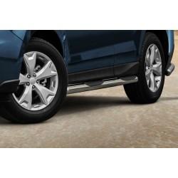 Marchepieds Subaru Forester (2013 -) - Latéraux avec revêtement en plastique anti-dérapant -