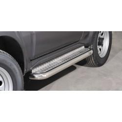 Marchepieds Suzuki Jimny (2012-) - Plat avec plaque anti-dérapante -