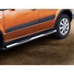Marchepieds Suzuki SX4 (2006-2013) - Latéraux avec revêtement en plastique anti-dérapant -