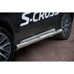 Marchepieds Suzuki SX4 S-CROSS (2013 - 2016) - Latéraux Profilé -